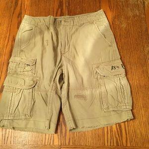 🆕 Khaki Cargo Shorts